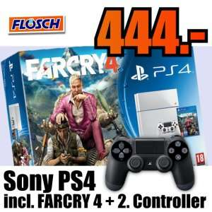 Sony Playstation PS4 500GB FARCRY 4 Bundle incl. 2. Controller