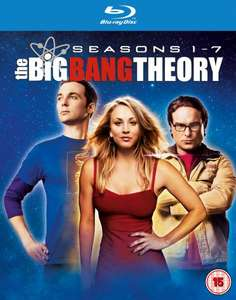 The Big Bang Theory Season 1-7 Blu Ray im O-Ton/ @ Zavvi.es