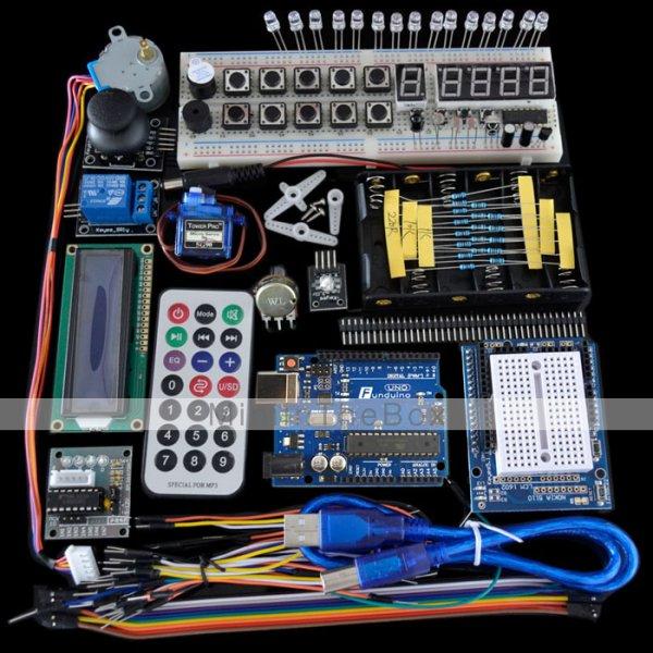 [XmasSale]Arduino kompatibles UNO 2011 Komponenten Basis Elemente Starter Set 38,39€ @miniinthebox.com