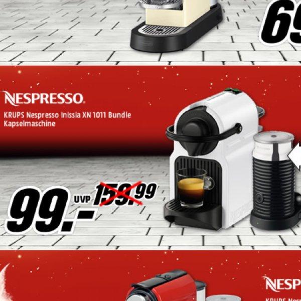 KRUPS Nespresso Inissia XN 1011 Bundle White 29€