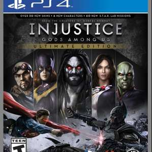 Injustice Ultimate Edition- Kostenlos PlayStation 4 Plus