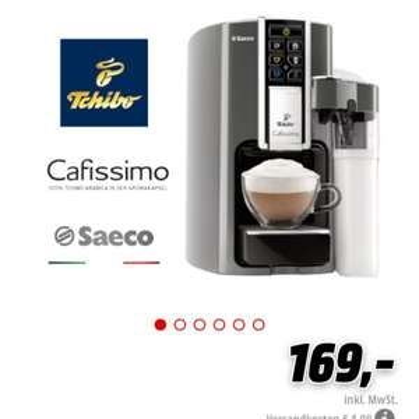 Saeco Tchibo Cafissimo Kaffee Kapselmaschine