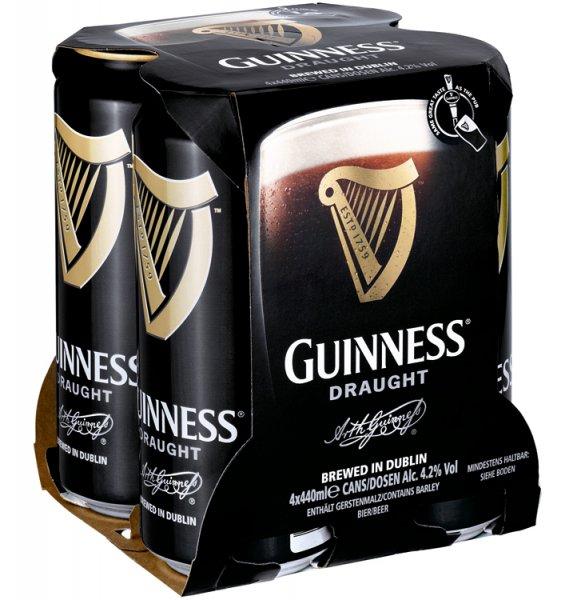 24 x Guinness Draught 0,44l Dosenbier für 30,94€ / 31,30€ / (32,21€) *upadte neuer preis :( *