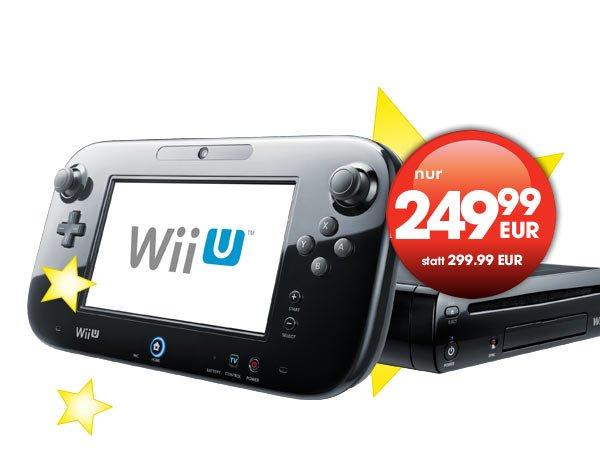 Gamestop Adventskalender Tag 6 - Wii U Premium Pack 32 GB für 249,99€