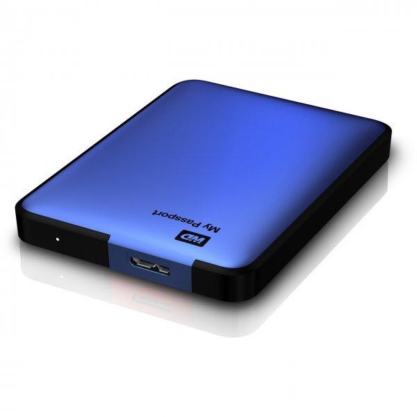 "@ebayWD My Passport 750GB 2,5"" USB 3.0 (WDBBEP7500ABL) externe Festplatte blau"