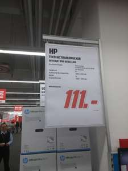 [LOKAL MM Weiterstadt]  Hewlett-Packard HP Officejet Pro 8615 für 111€