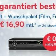 Sky Weihnachtsaktion ( Sky Welt + ein Wunschpaket + Sky GO + Festplattenreceiver ) für 16,90€