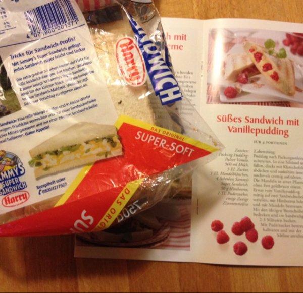 Rezeptheft von Harry (Sammy's Super Sandwich)