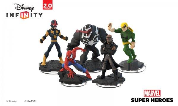 (Lokal) Disney Infinity 2.0 Marvel und Originals 3 Figuren die günstigere gibts Gratis in euren Realmärkten