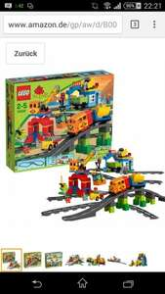 Lego duplo super eisenbahnset