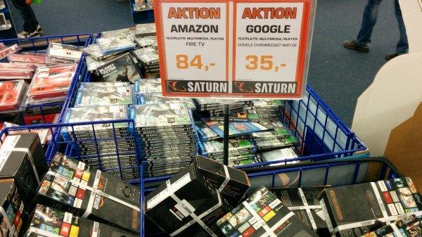 Amazon Fire TV für 84 EUR bei Saturn in Berlin