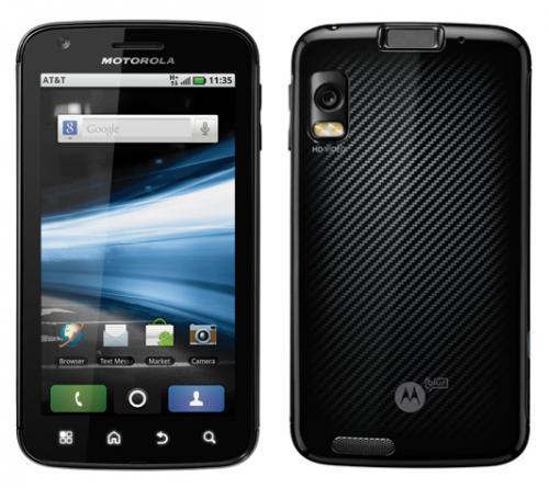MOTOROLA ATRIX 2 GHZ Dual Core Smartphone - frei für alle Netze für 312,04€ Versandkostenfrei