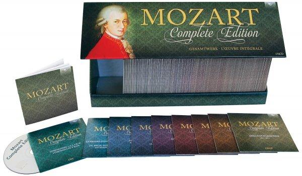 Amazon Blitzangebot: Mozart: Complete Edition (New) Box-Set ( 170 Cds)  Nur 60,99 €