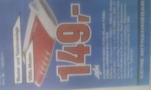 [lokal] saturn hamburg fritzbox 7390 für 149€