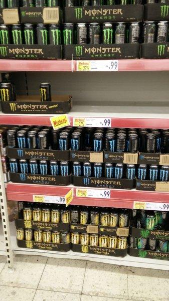 Kaufland: Monster für 0,99 Euro alle Sorten