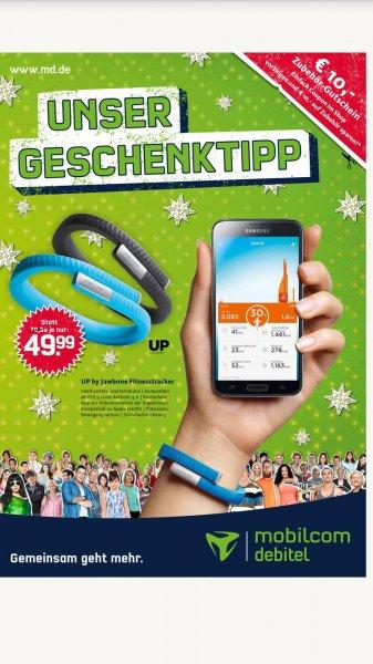 Jawbone Up für 39,99 Euro bei Mobilcom Debitel
