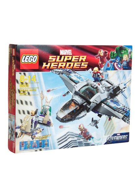 Lego Super Heroes 6869 Auseinandersetzung in der Luft bei Limango für 49,99 zzgl. Versand