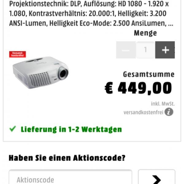 Optima Hd 25 lv bei Media Markt Online