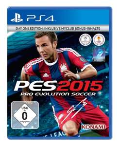[amazon] PES 2015 Day one Edition PS4 inkl. PES Fußball