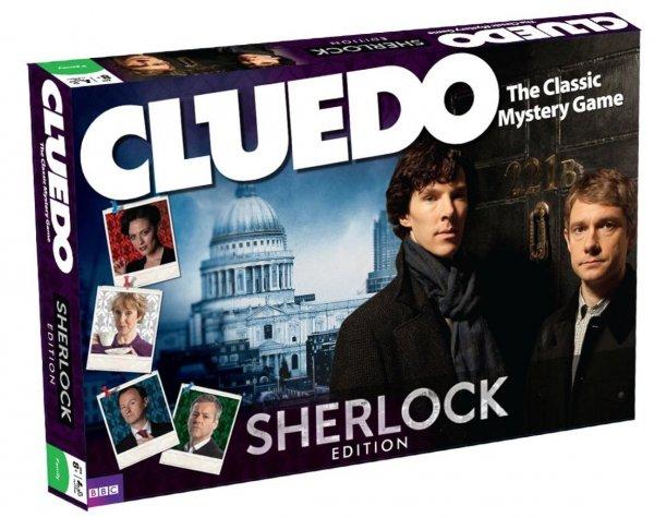 [Buecher.de] Cluedo : Sherlock Edition
