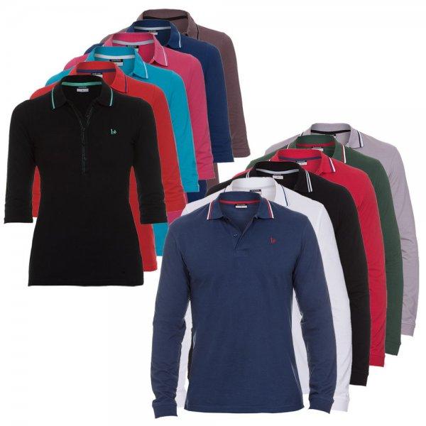 eBay WOW Angebot - Bruno Banani Langarm Polo Shirts Damen & Herren für 34,90€ frei Haus