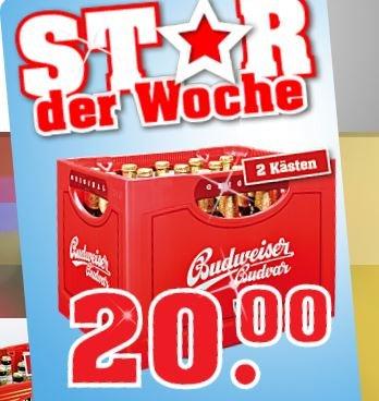 Budweiser Budvar: Kasten 12,99€ - 2 Kästen 20€!!! [Trinkgut]