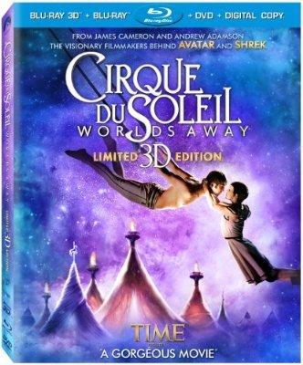 Blu-Ray 3D: Cirque Du Soleil: Mondi Lontani für 11,76€ statt 24,49€ (idealo) -> über 50% gespart