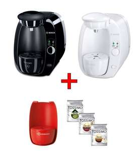 Bosch TASSIMO Amia Set + 3x Jacobs T Disc + Farbschale rot 34,99€   @eBay