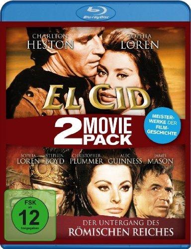 El Cid/Der Untergang des römischen Reiches - 2 Movie Pack [Blu-ray] für 4,97 € > [amazon.de] > Prime