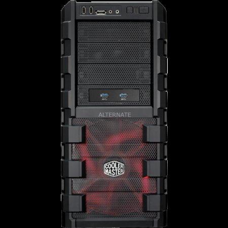 """(Zackzack) Cooler Master Midi-Tower Window 2x 200mm 1x 120mm """"HAF 912 Advanced"""" für 49,99 Geizhals ab 72,43"""