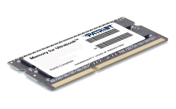Patriot PSD38G1333L2S Arbeitsspeicher 8GB (1333MHz, CL11) DDR3 SO-DIMM für Ultrabook für 41,31 Euro @Amazon.co.uk Preisfehler?