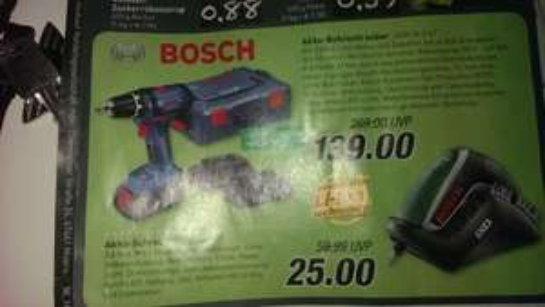 [Regional] Bosch IXO @ Marktkauf Bielefeld ab 11.12.