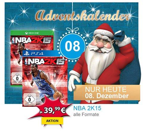 [Xbox One / PS4] NBA 2K15 für 39,99@ @Müller (Filiale) / @Amazon geht mit