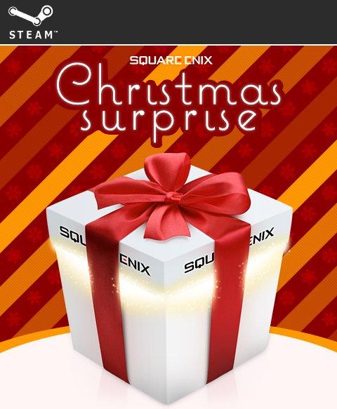 Square Enix Weihnachtsüberraschung (6 Steam Keys + 2 Exklusive Angebote) für 6,49€