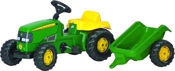(Amazon Blitzangebot) Trett-Traktor für Kinder von 2-4 J. mit Anhänger