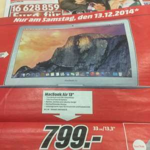 MacBook Air 13,3 Zoll