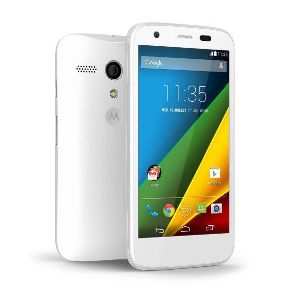 Motorola Moto 4G (LTE) 8GB,Micro SD Slot, Schwarz oder Weiß inkl. Vsk für 154,57 € > [amazon.fr] > Blitzangebot