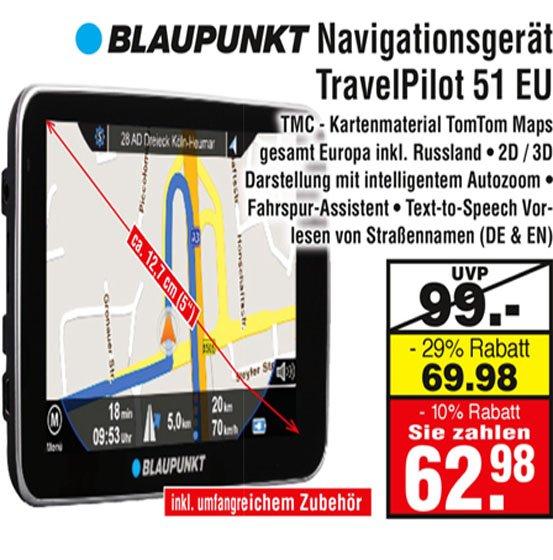 [Netto MD] [lokal Bochum] Blaupunkt Navi TravelPilot 51 EU