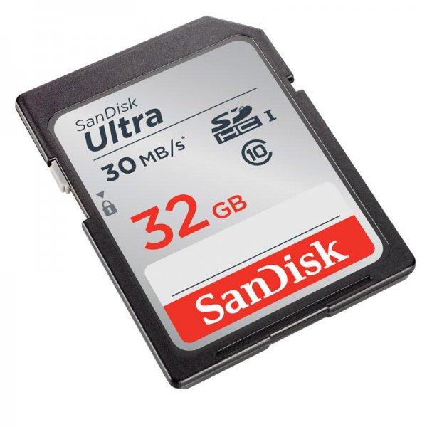 SanDisk Ultra SDHC 32GB Class 10 UHS-I - 10€ MediaMarkt