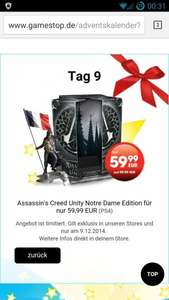 [Gamestop]Assassin's Creed Unity Notre Dame Edition für PS4