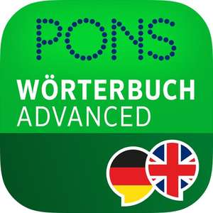 Pons advanced, Englisch  Deutsch {Android/iOS}