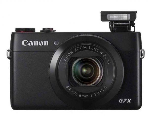 """Canon PowerShot G7 X für 539€@Cyberport kleine Kompaktkamera mit 1"""" Sensor"""