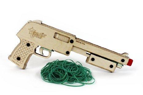 BANDIT GUN / Gummibandshotgun -50% inkl. VSK