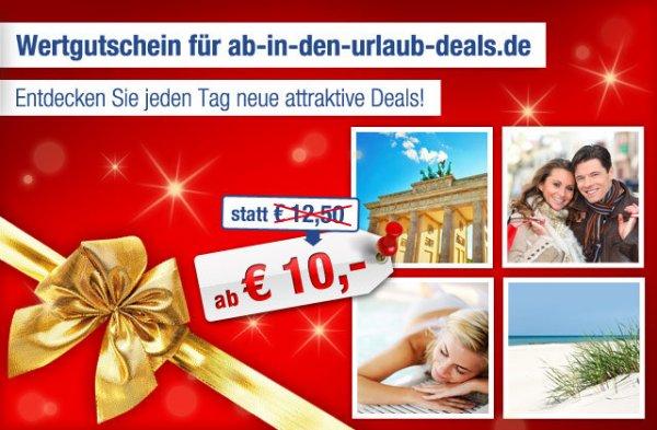 Ab-In-Den-Urlaub-Deals Gutschein im Wert von 125€ für 85€