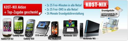 Nintendo 3DS / Nintendo Wii oder Handy für lau