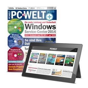 PC-WELT Plus mit 3 DVDs Probeheft Gratis