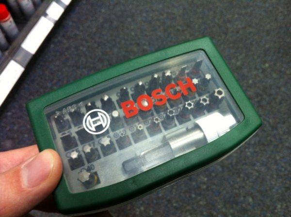 Bosch Bitsatz 32-teilig @Conrad [lokal FFM]