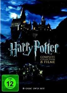 [DVD] Harry Potter Komplettbox Teil 1+2+3+4+5+6+7.1+7.2 18,88€ inkl. Versand