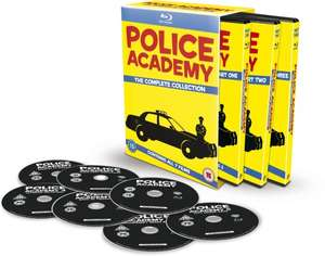 Police Academy 1-7 The Complete Collection [Blu-ray] für 14,63€ bei Amazon.co.uk mit MasterCard