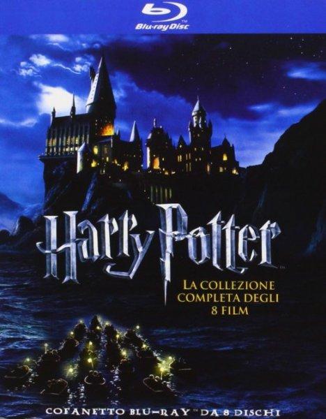(Amazon.es) (BluRay) Harry Potter - Alle Filme - 8x BD für 29,50€